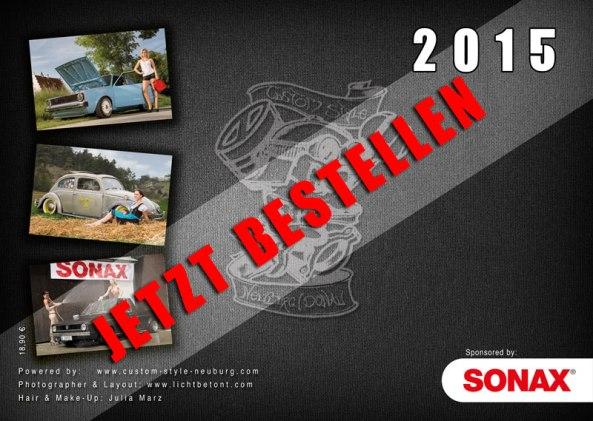Sonax CSN Kalender 2015